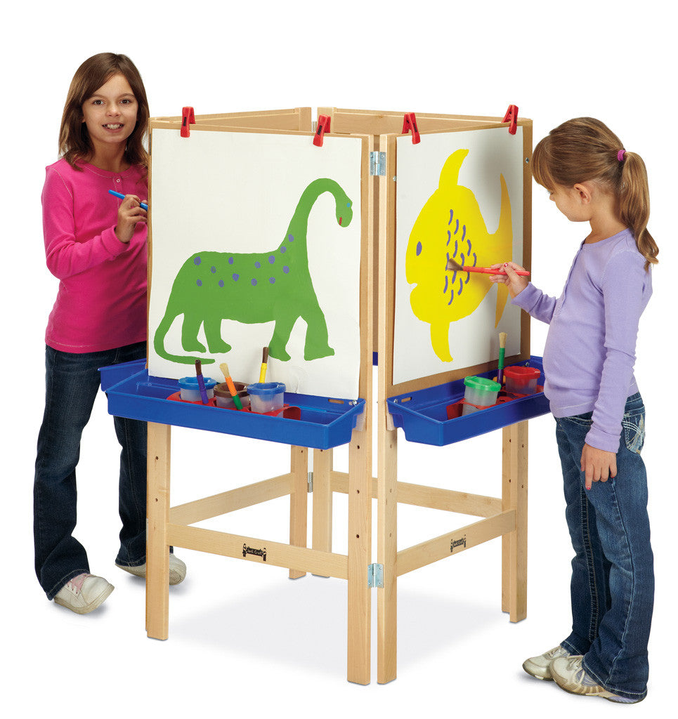Art Easel with Four Sides
