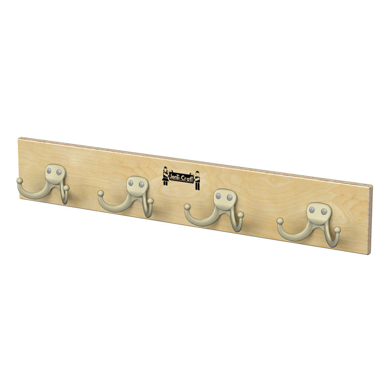 wall mounted coat bar