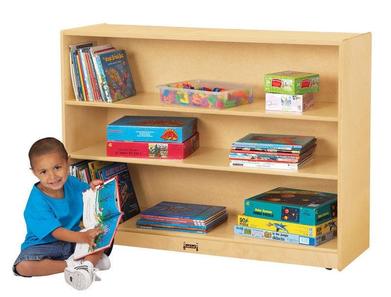 MOBILE ADJUSTABLE BOOKCASE