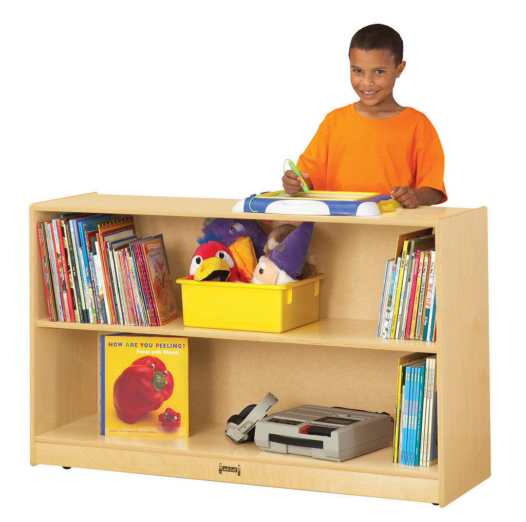 LOW ADJUSTABLE BOOKCASE