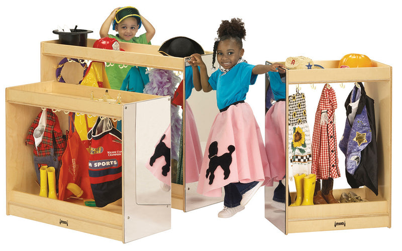 DRESS UP ISLAND  COSTUME STORAGE one large and two smaller versions