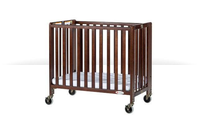 HideAway™ Folding Crib - Compact-size (Antique Cherry)