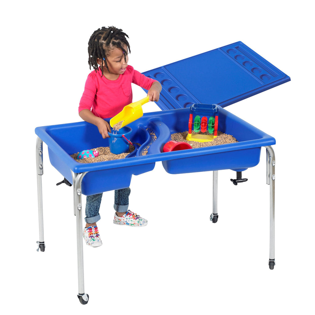 "24"" Neptune Sensory Table with Lid"