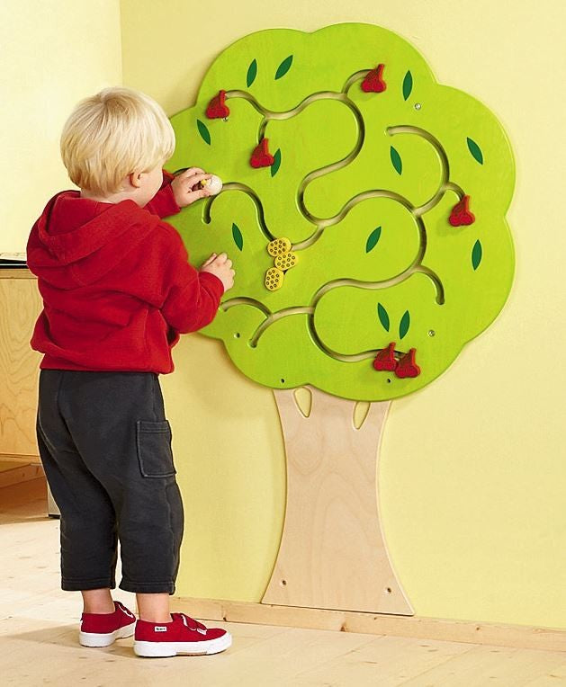 Cherry Tree Wooden Wall Toy