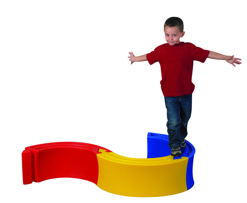 Edu-Ring .  3 molded plastic this multicolored active play set
