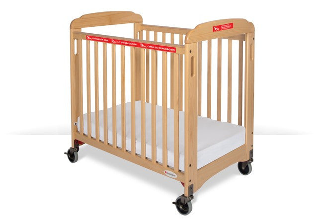 Evacuation Crib Fixed-Side (Clearview) Includes evacuation frame