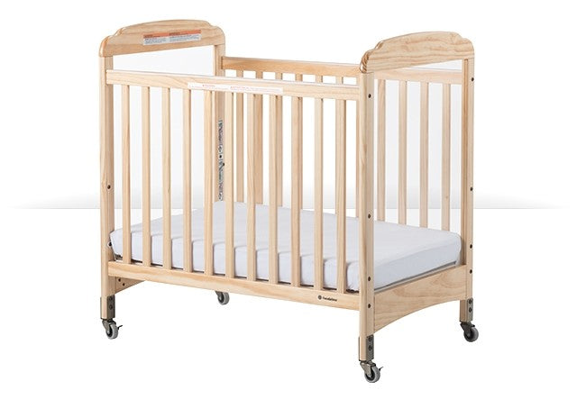 Next Gen Compact Serenity Crib Natural or White
