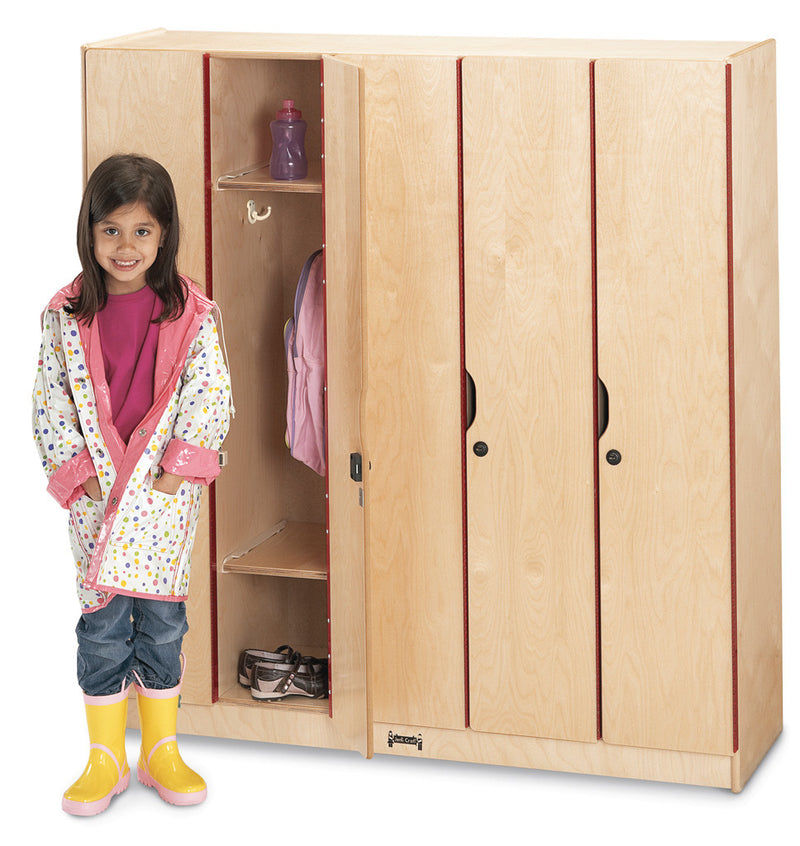Jonti-Craft® 5 Section Lockers with Doors