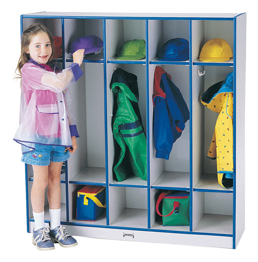Rainbow Accents® 5 Section Coat Locker