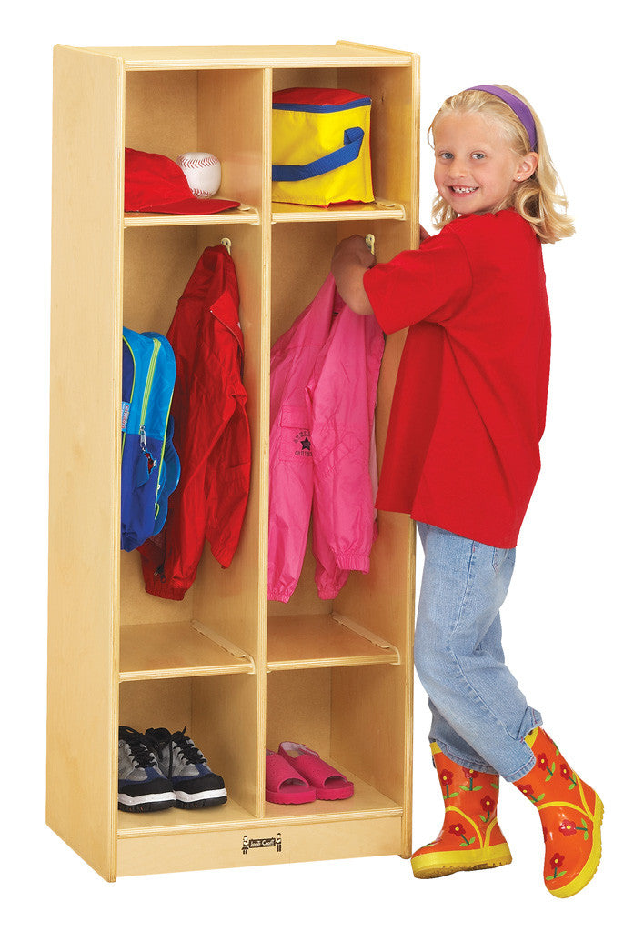 TWO SECTION CLASSROOM LOCKER