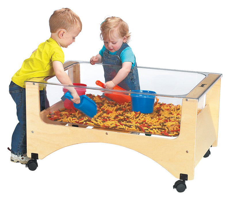 SEE-THRU SENSORY TABLE TODDLER