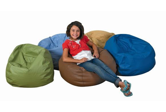 "35"" Round Bean Bag - Various Color Choices"