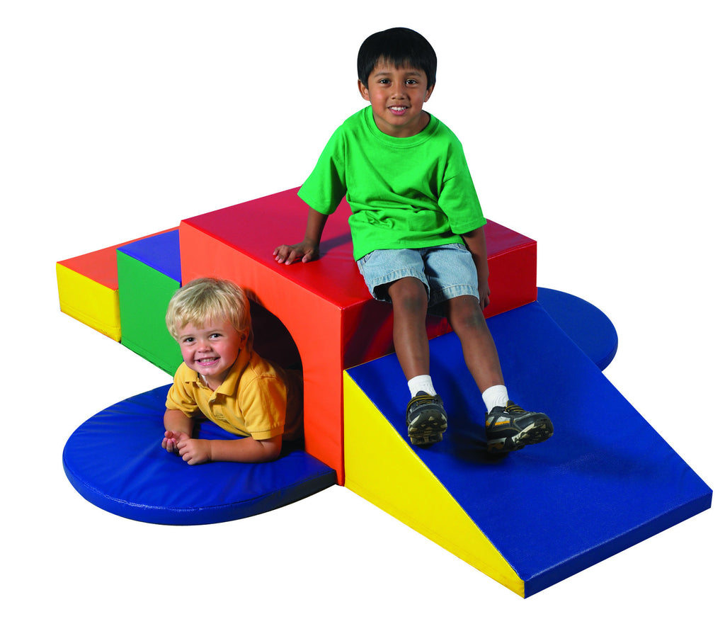 Soft Tunnel Climber with slide
