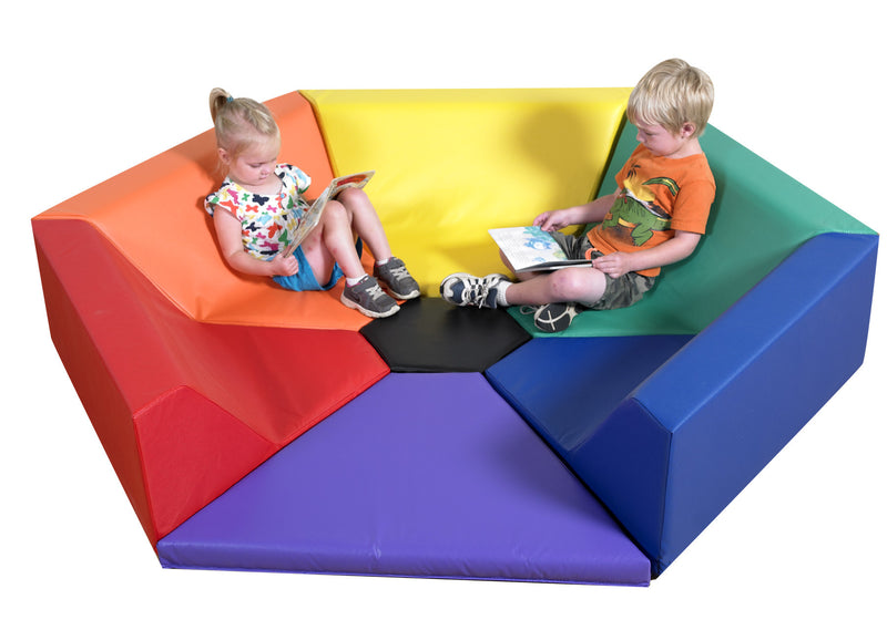 Hexagon Happening Hollow  6 SIDED PLAY SOFT PLAY SPACE