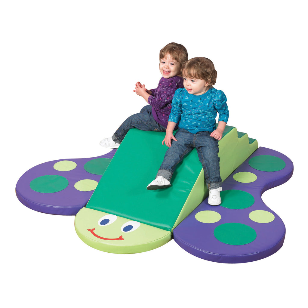 Soft play butterfly climber