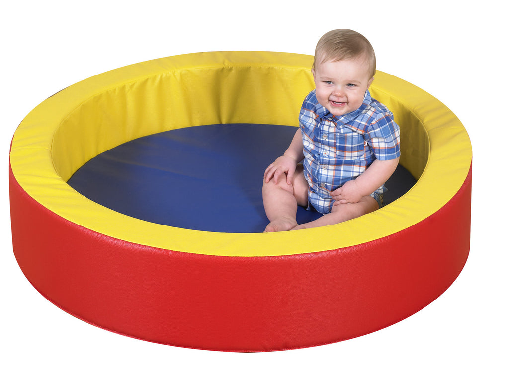 TODDLER HOLLOW SOFT ENCLOSURE FOR TODDLERS  PRIMARY COLORS