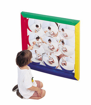 Bubble Mirror  34 inch square
