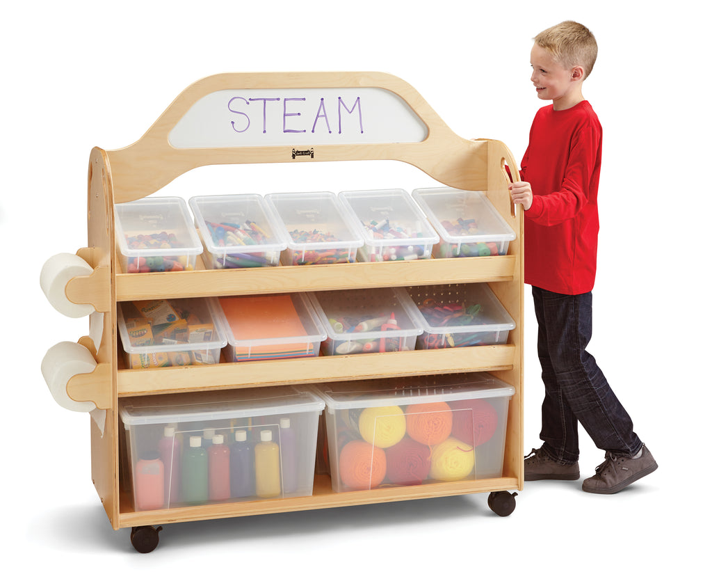 Jonti-Craft STEAM Multimedia Cart