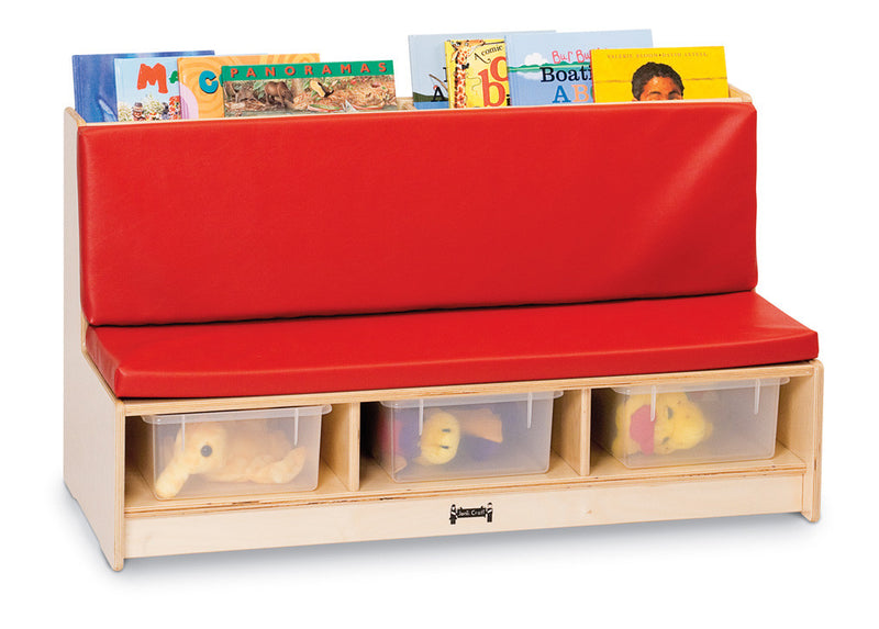 Corner Literacy Nook - Red