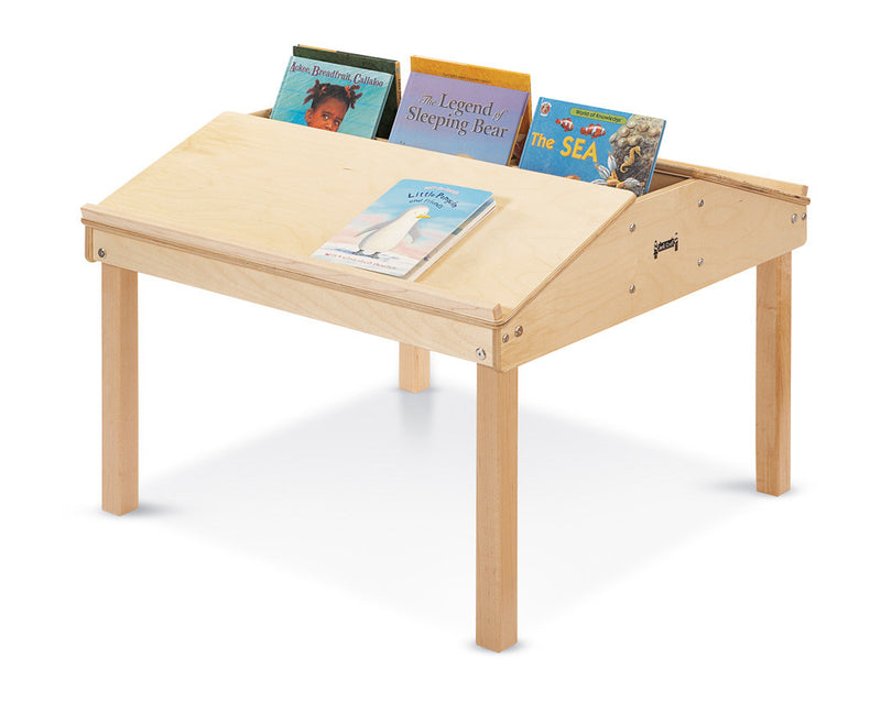 "Jonti-Craft® Quad Tablet And Reading Table - 23"" High"