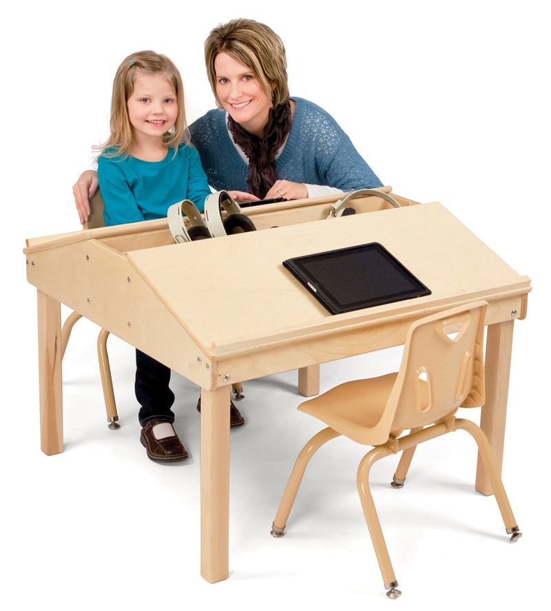 "Jonti-Craft® Quad Tablet And Reading Table - 24½"" High"