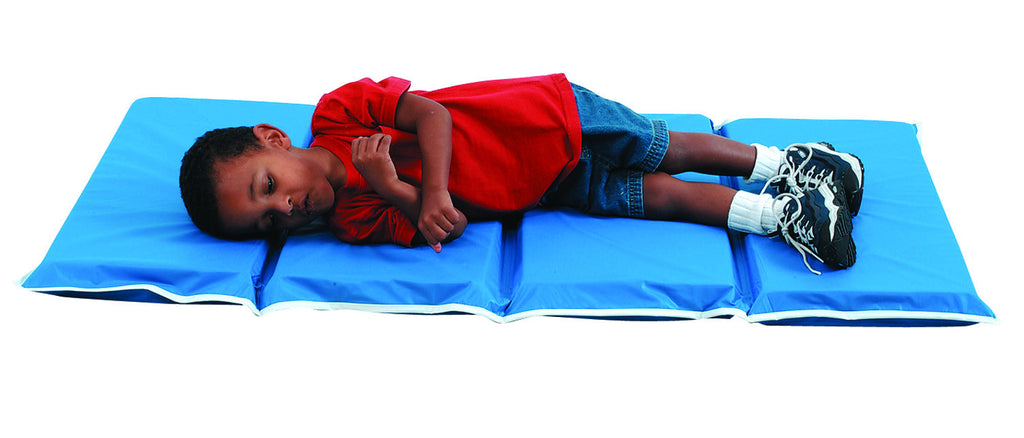 "1"" Tough Duty Folding Rest Mat – Blue 10 Pack"