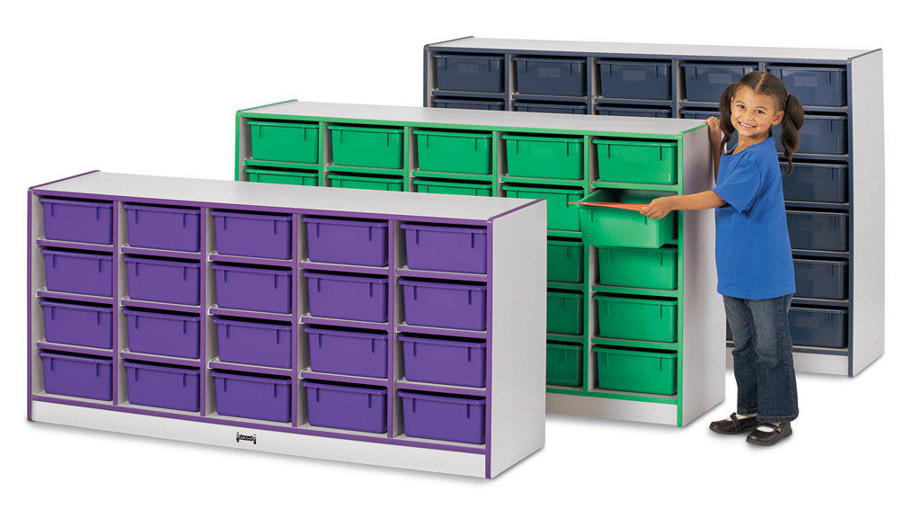 Rainbow Accents® 20 Tub Mobile Storage
