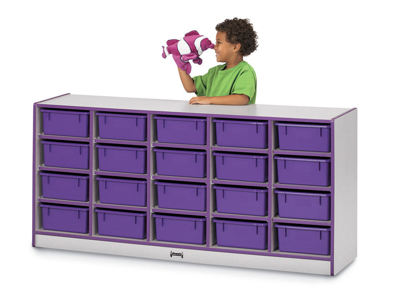 Rainbow Accents® 25 Tub Mobile Storage
