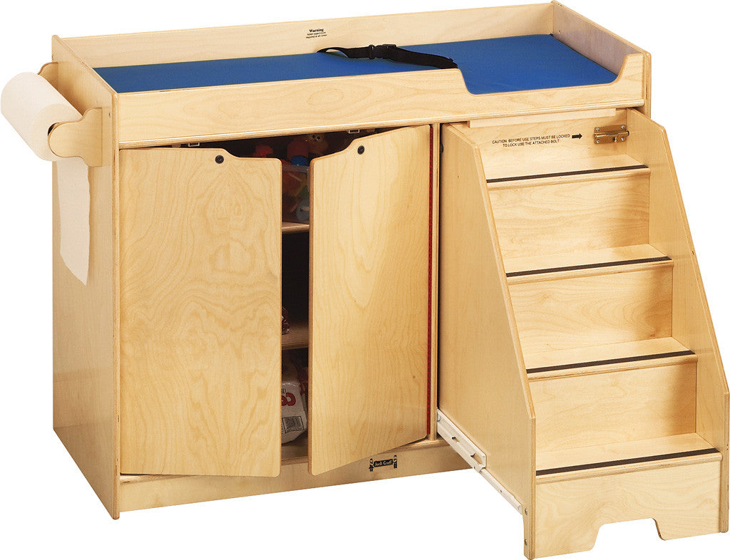 Jonti-Craft® Changing Table - with Stairs - Right