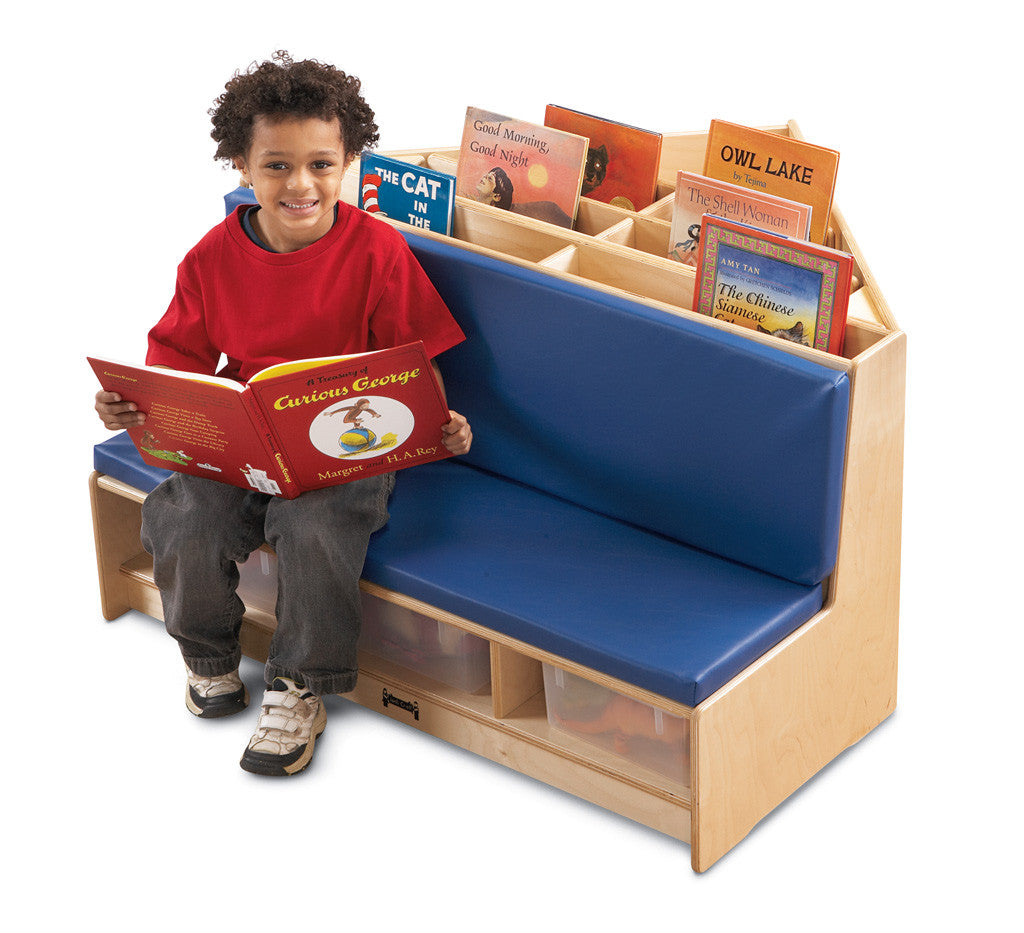Corner Literacy Nook - Blue