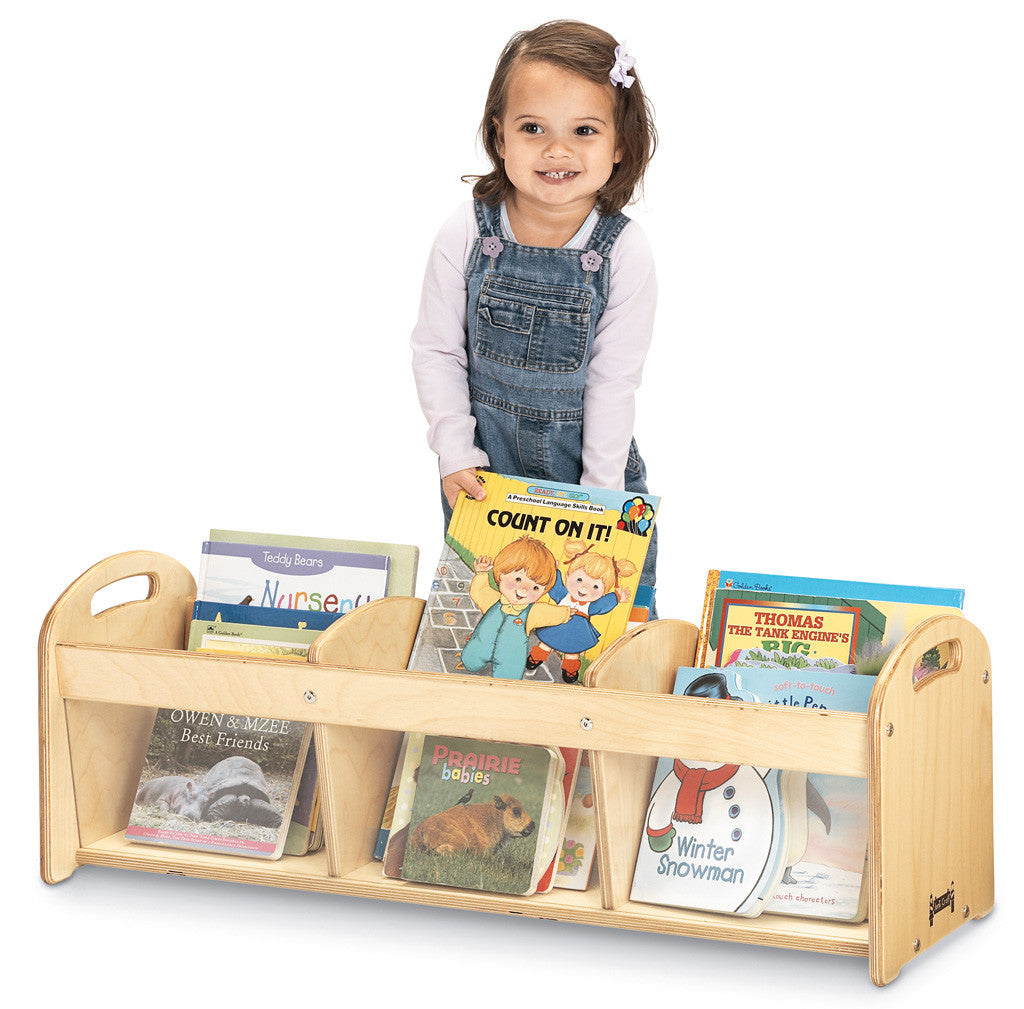 SEE-THRU TODDLER BOOK BROWSER