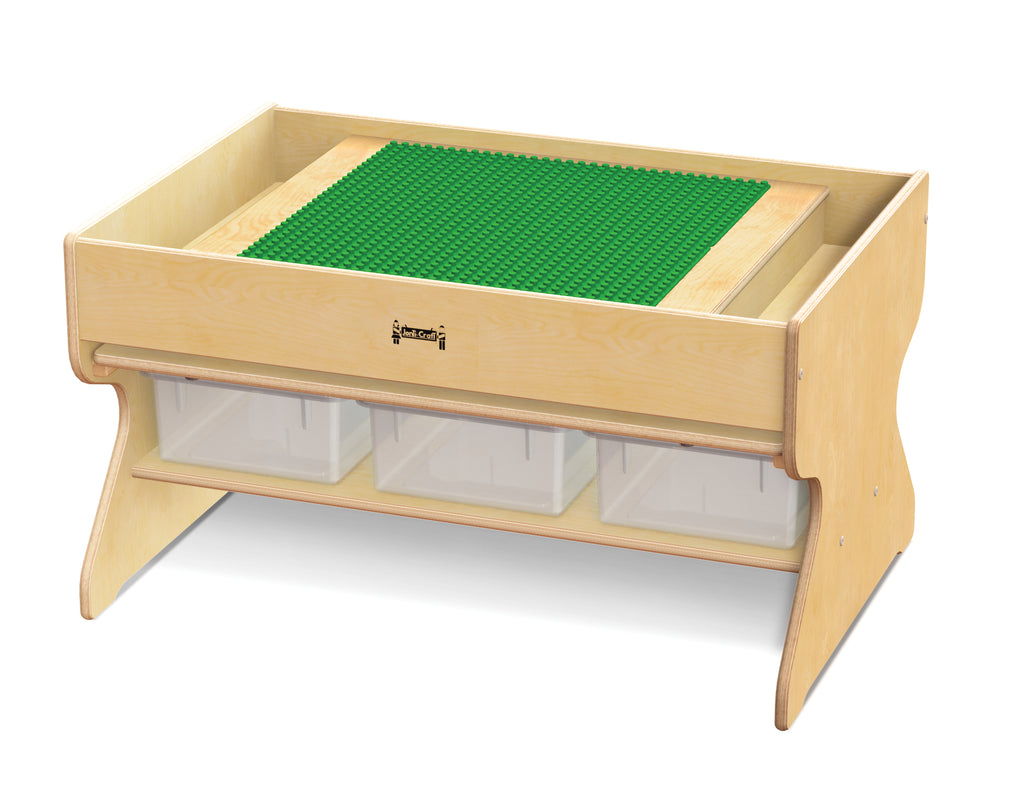 Deluxe Building Table-Preschool Brick Compatible