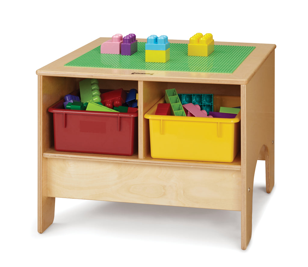 Jonti-Craft® KYDZ Building Table - Preschool Brick Compatible