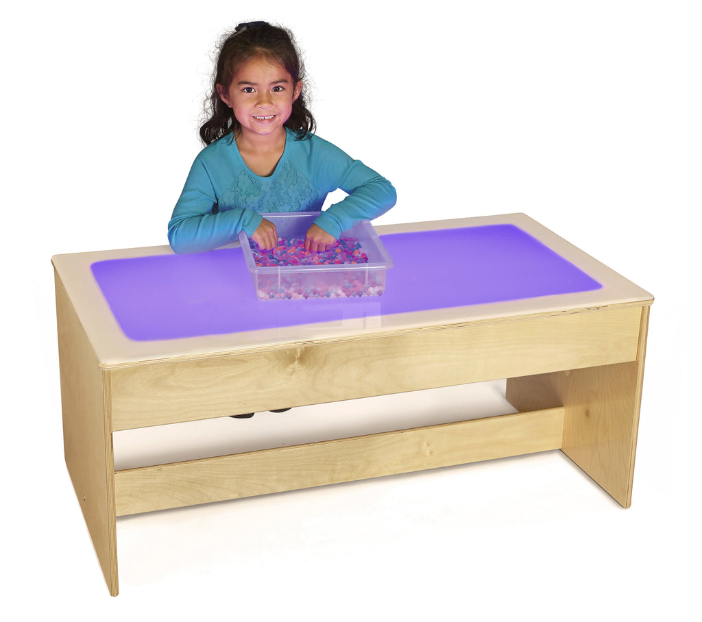 Jonti-Craft Large Light Table-Multicolored