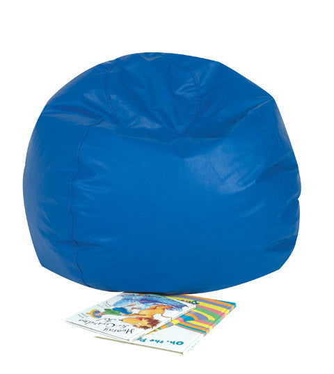 "26"" Bean Bag Chair in Blue"