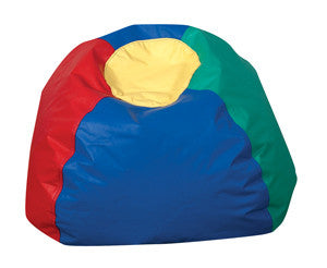 "26"" Bean Bag Chair Multi-Colored"