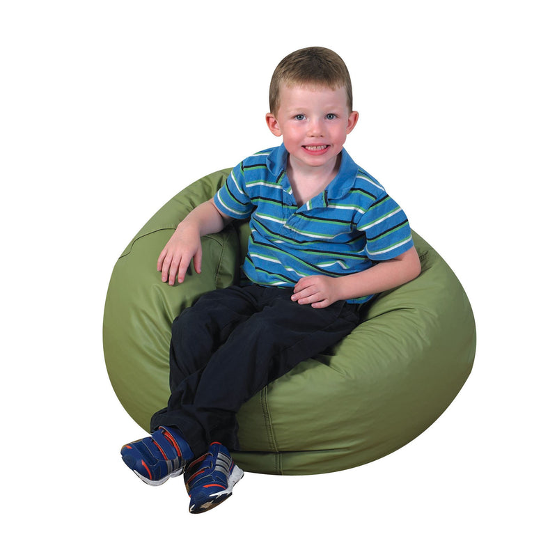 "26"" Bean Bag Chair in sage green"