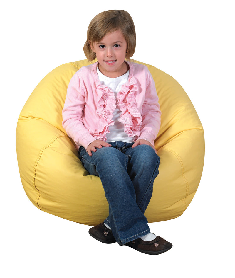 "26"" Bean Bag Chair in Yellow"