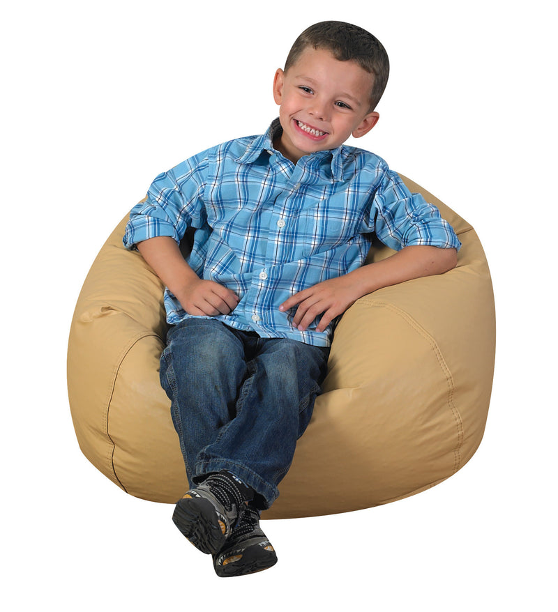 "26"" Bean Bag Chair in Almond"