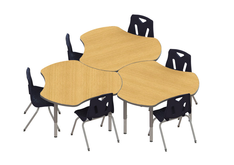 Collaborative Classroom Hub ~ Berries collaborative hub table quot kindermark kids