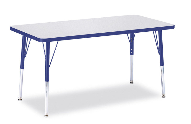 "Berries® Rectangle Activity Table - 24"" X 48"", A-height"