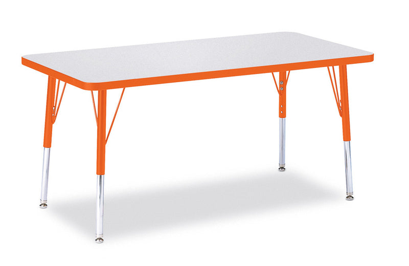 "Berries® Rectangle Activity Table - 24"" X 48"", E-height"