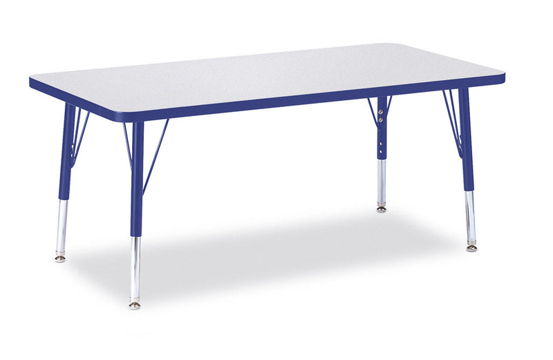 "Berries® Rectangle Activity Table - 24"" X 48"", T-height"