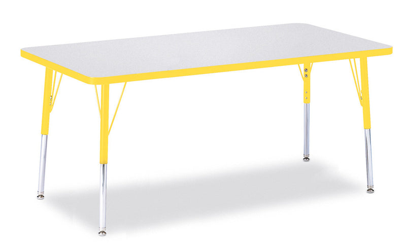 "Berries® Rectangle Activity Table - 30"" X 60"", A-height"