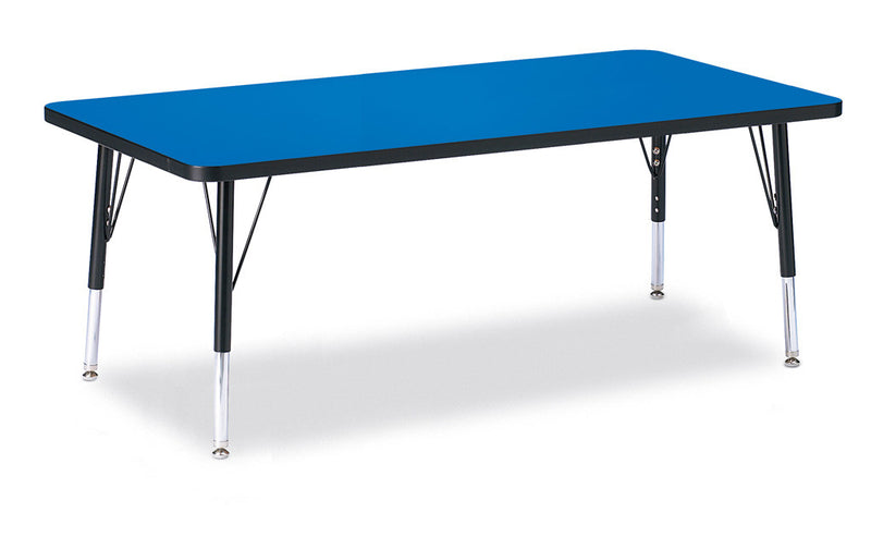 "Berries® Rectangle Activity Table - 30"" X 60"", T-height"