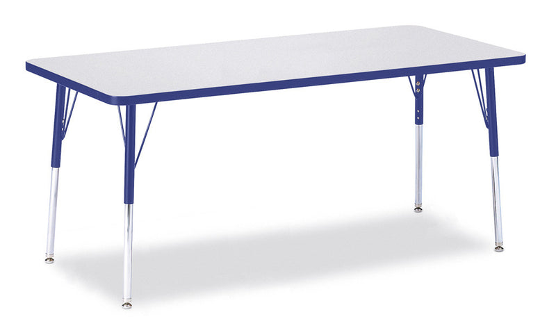 "Berries® Rectangle Activity Table - 30"" X 72"", A-height"