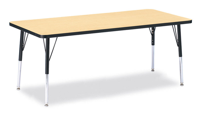 "Berries® Rectangle Activity Table - 30"" X 72"", E-height"