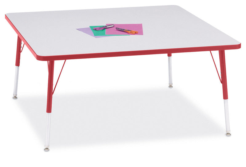 "Berries® Square Activity Table - 48"" X 48"", A-height"