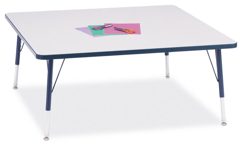 "Berries® Square Activity Table - 48"" X 48"", E-height"