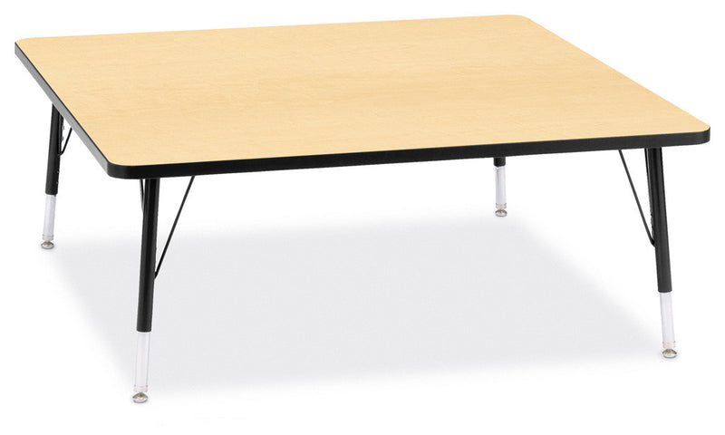 "Berries® Square Activity Table - 48"" X 48"", T-height"